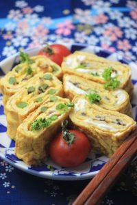 Japanese Rolled Omelette *Tamagoyaki*