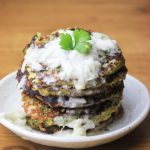 My PCOS Kitchen - Gluten-free Zucchini Fritters & Dairy-free Tzatziki - Delicious Paleo treats.