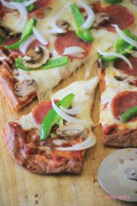 Low-carb Gluten-free Pizza