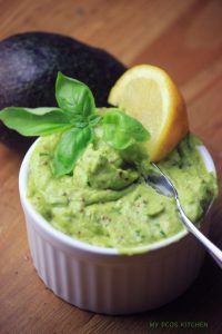 Creamy Avocado Basil Pesto