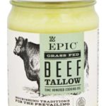 EPIC Animal Oil (100% Grass Fed Beef Tallow)