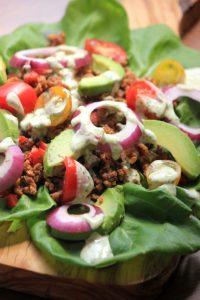 Paleo Lettuce Tacos