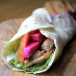 paleo chicken shawarma sandwich wrap