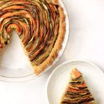 Paleo Spiral Vegetable Tart