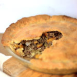 Paleo Low Carb Tourtiere - A French Canadian Meat Pie filled with Venison and Pork.