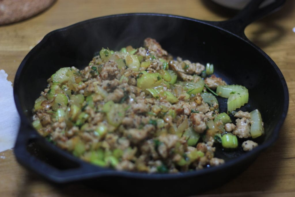My PCOS Kitchen - KETO Stuffing - A low carb, gluten-free, paleo stuffing that the whole family will enjoy!