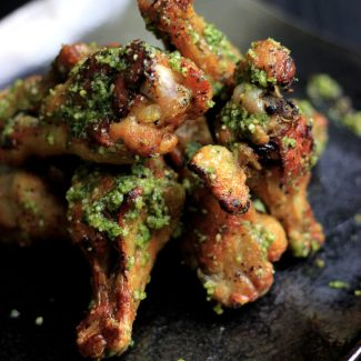Pesto Chicken Wings