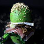 Prosciutto & Brie Avocado Bun