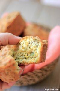 Keto Broccoli Cheddar Muffins