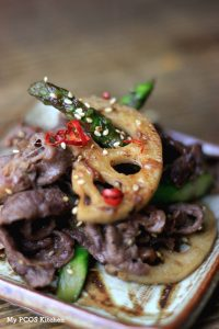 Paleo Beef & Asparagus Stir-Fry