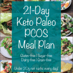 21-Day Keto Paleo PCOS Meal Plan