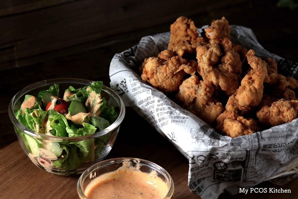 Crispy Keto Fried Chicken (Low Carb / Gluten-free) - My PCOS Kitchen