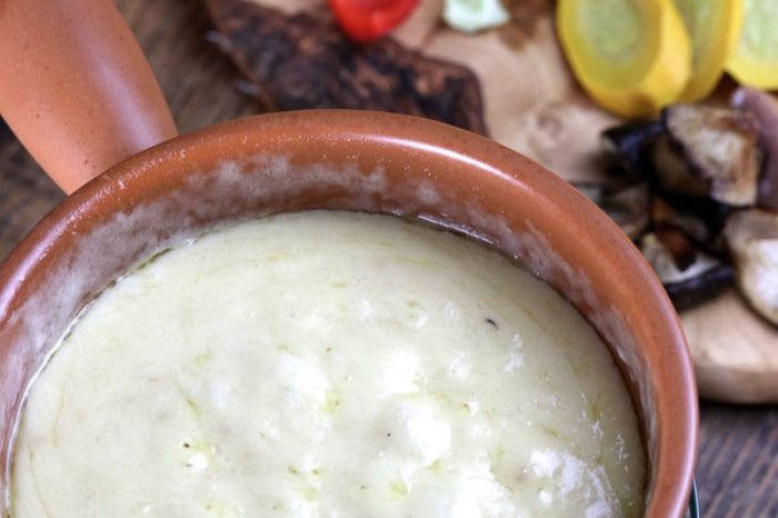 Keto Cheese Fondue