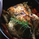 Keto Paleo Dutch Oven Roasted Chicken