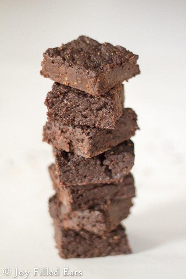 Fudgiest Fudge Brownies - Joy Filled Eats - 20 Low Carb Dairy-free Baked Goodies Recipes Roundup