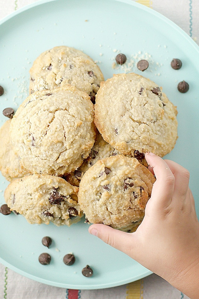 Healthy Chocolate Chip Cookies - Jennifer Banz - 20 Low Carb Dairy-free Baked Goodies Recipes Roundup