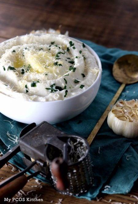 Creamy Keto Mashed Cauliflower