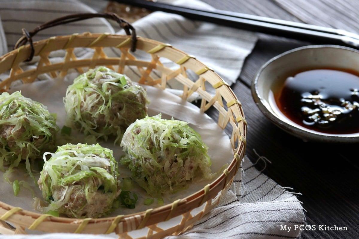 Keto Paleo Shrimp & Pork Shumai (Gluten/Starch-free) - My PCOS Kitchen