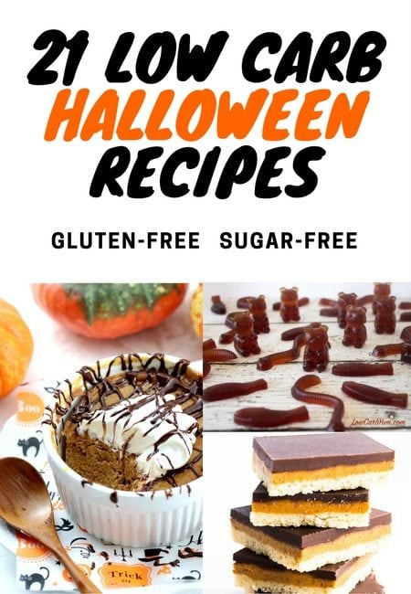 21 Low Carb Halloween Recipes
