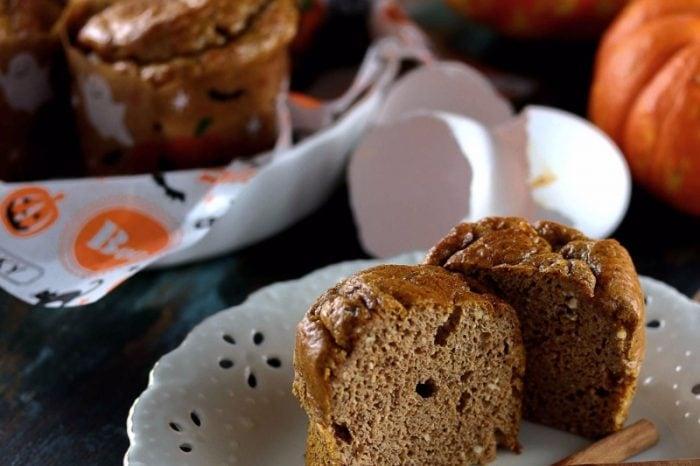 Keto Flourless Pumpkin Muffins