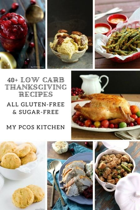 40+ Low Carb Thanksgiving Recipes