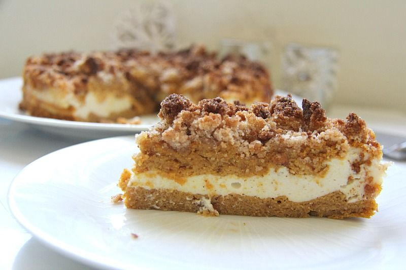 My PCOS Kitchen - Divalicious Recipes - 40+ Low Carb Thanksgiving Recipes - Pumpkin Coffee Cake