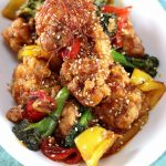 Low Carb Sweet Chili Chicken