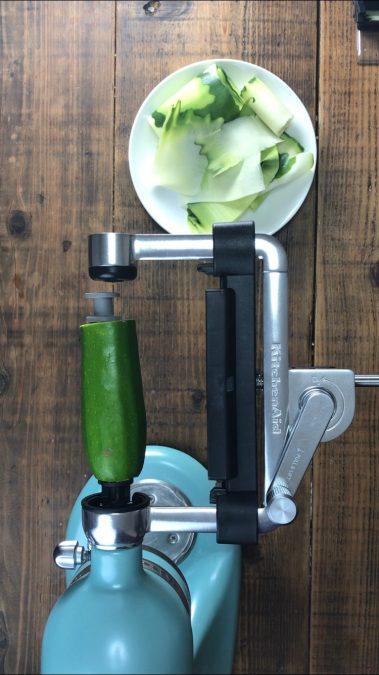 My PCOS Kitchen - Zucchini Lasagna - Kitchenaid Vegetable Sheet Cutter Attachment