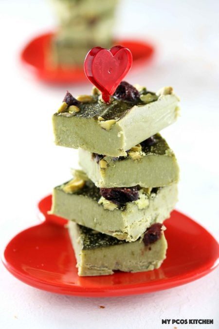 Low Carb Paleo Matcha Chocolate Fudge