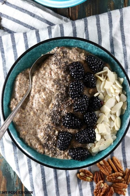 Low Carb Oatmeal ~ Maple Flavoured